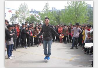 春季运动会-跳绳比赛