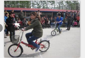 春季运动会-自行车慢骑