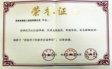 河南省十佳慈善公益单位