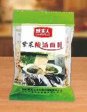 紫菜酸汤面叶